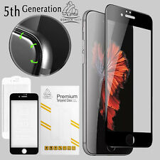 Full Cover Screen Protector Tempered Glass Gorilla Tech 5th Gen iPhone 7 Black