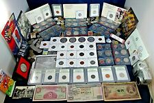 US Coin Collection Lot Silver Kennedy, US Mint Sets, West Point Quarter Buffalo