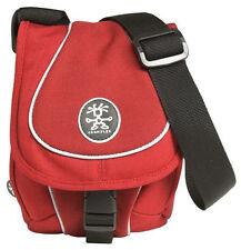 Crumpler Digits Crisp E 950 Camera Case Bag Pouch Red DK Red Silver