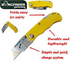 Deportes trabajo plegable de bolsillo utilidad cuchillo titular de recorte toma Stanley Blade
