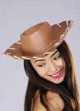 Brown Woody Style Cowboy Hat