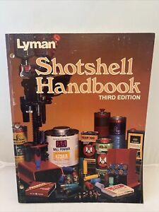 Vintage 1984 Lyman Shotshell Handbook Third Edition Paperback