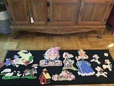 Vintage Dolly Toy Co. Mother Goose Wall Pop-ups decor 1950's lot of 11