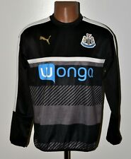 NEWCASTLE 2015/2016 TRAINING FOOTBALL HOODED TOP PUMA SIZE M ADULT