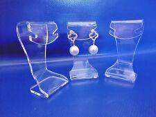 12x Earrings stand. Acrylic jewelry display.