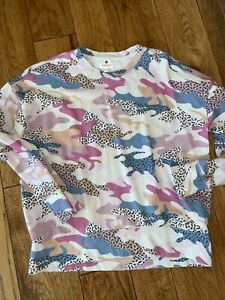 Sundry Animal Print Pullover Size 0 XS
