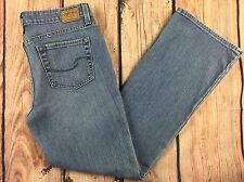 Women's Levi's Low Rise Boot Cut Light Wash Jeans Size 8M AD