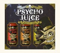 "Dr Burnorium's ""Psycho Juice Gift"" - Red Savina, Habanero & Ghost Chilli Sauce"