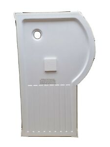 Victoria Plumb Right Hand 1500X900mm Walk In Contract Shower Tray Anti-slip