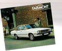 1979 Ford FAIRMONT Brochure / Catalog / Flyer: FUTURA,Station Wagon,Squire,