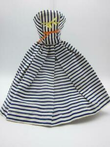 Cotton Casual sundress #912 Barbie Midge outfit navy striped dress 1959 NM