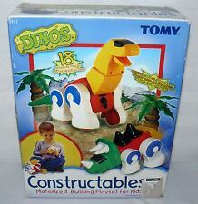 Tomy Dino's Building Kids Play Set Dinosaur Vehicle Toys