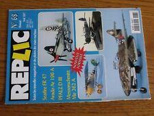 $$$ Revue Replic N°68 Seafire FR 47Arado Ar 196 APFALZ D IIIMe 262 A