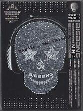 Bigbang: Mini 4 (2011) Korea / CD & DVD TAIWAN
