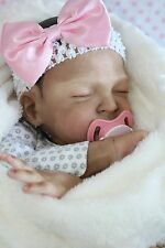 New Realistic Lifelike Adorable Reborn Baby Doll Girl Sweet Pea Biracial