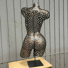 Metal Wall Art Abstract Sculpture Nude Torso byHolly Lentz