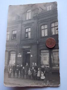 Antikes Foto Kolonialwaren Geschäft 1925 Emailschild Maggi