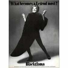 1973 Blackglama: Ethel Merman Vintage Print Ad
