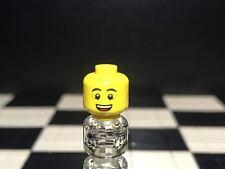 Lego Minifigura Cabeza con doble cara X1 Macho/Tipo De Niño// Repuesto