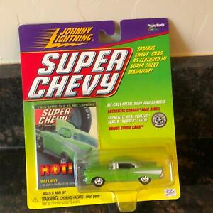 Johnny Lightning Super Chevy 1957 Chevy '57s Sind Hot! H5