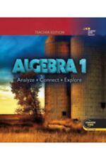 High school math hardcover textbooks educational books for sale ebay hmh algebra 1 analyze connect explore teacher edition houghton mifflin harcourt fandeluxe Choice Image