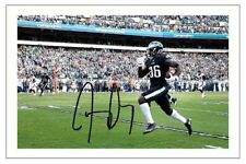 JAY AJAYI PHILADELPHIA EAGLES SIGNED PHOTO AUTOGRAPH PRINT NFL FOOTBALL