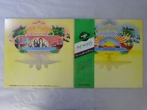 Wishbone Ash Live Dates MCA Records VIM-9513~4 Japan   LP OBI