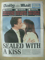 VINTAGE NEWSPAPER DAILY MAIL DECEMBER 7th 2005 DAVID CAMERON NEW TORY LEADER