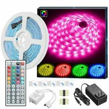 Tiras LED WiFi Luces Decoracion Wireless RGB Para Cuarto Habitacion Kit Sala