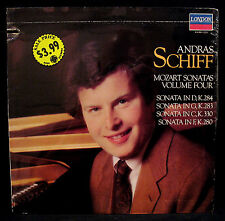 ANDRAS SCHIFF-MOZART SONATAS VOL.4-Sealed UK Import Album-LONDON #414 293-1