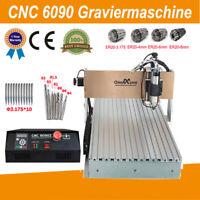 CNC 6090 Router Engraver Fräsen Gravur 3Achsen 2.2KW Carving Schneidemaschine