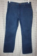 VTG WRANGLER Cowboy Cut 945NAY Med Wash Jeans Made in USA Sz 38x30 (meas 35X29)
