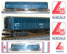 LIMA 320867 CARRO MERCI FS da 42Ton TRASPORTO BESTIAME con SOFFIETTI BOX SCALA-N