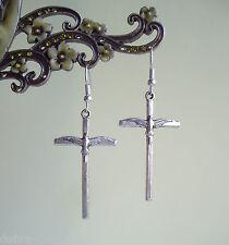 PACE COLOMBA crocifisso croce pendente orecchini