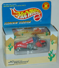 1999 Hot Wheels JC Whitney Scorchin Scooter Special Edition - MIB