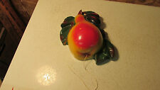 Antique Chalkware Pear String Holder