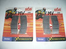 PLAQUETTES de FREINS AV SBS RS pour MV AGUSTA tous modeles et KAWA 750 ZX RR
