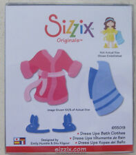 new SIZZIX DRESS UPS BATH CLOTHES LARGE DIE 655019