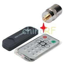 DVB-T USB stick with FM+DAB RTL2832U+R820T and Antenna adapter TV-f to MCX-m
