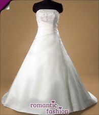 ♥Größe 34,36,38 od 40 Brautkleid, Hochzeitkleid in Weiß +NEU+SOFORT+PL0610♥