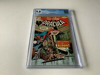 TOMB OF DRACULA 32 CGC 9.8 WHITE PAGES BATTLEGROUND OF BLOOD MARVEL COMICS 1975