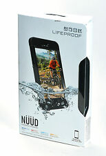 LifeProof Nuud Waterproof Water Dust Proof Case for iPhone 6s Plus Black NEW