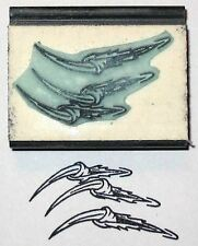 Dragon Claws rubber stamp by Amazing Arts very cool