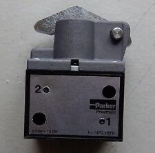 "PARKER/Schrader 3/8""bsp 2/2 CAMMA PRIMAVERA Heavy Duty pneumatico valvola a fungo b102m"