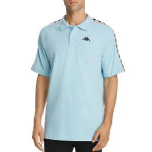Kappa Mens Logo Collar Short Sleeves Polo Shirt BHFO 3626