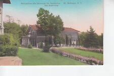 Metro Life Sanatorium The Auditorium Mount McGregor NY