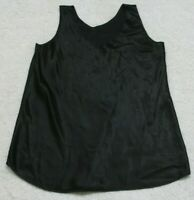 Tank Top Tee T-Shirt Sleeveless Size Small Black Crewneck Polyester Pea In Pod