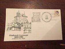 1980 Gladbrook Centennial Gladbrook Iowa Special Stamp Cover