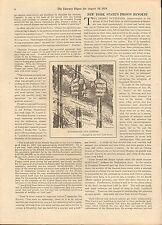 1929 DANNEMORA & AUBURN NEW YORK PRISON REVOLTS-Hoover,Roosevelt,Clinton,Baumes