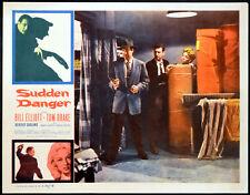 SUDDEN DANGER 1955 Bill Elliott, Tom Drake, Beverly Garland LOBBY CARD